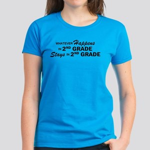 Whatever Happens - 2nd Grade Women's Dark T-Shirt