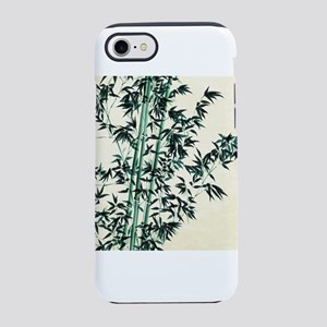 Oriental Green Bamboo iPhone 7 Tough Case