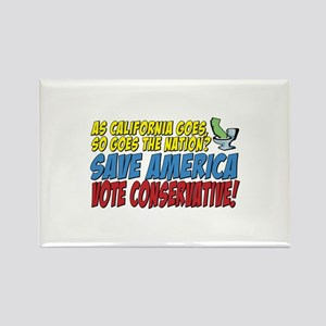 Save America, Vote Conservati Rectangle Magnet