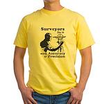 SurveyorsDoIt Yellow T-Shirt