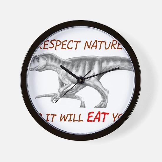 Cool Allosaurus Wall Clock