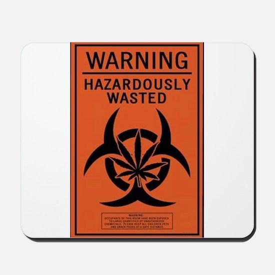 Hazardously Wasted Mousepad
