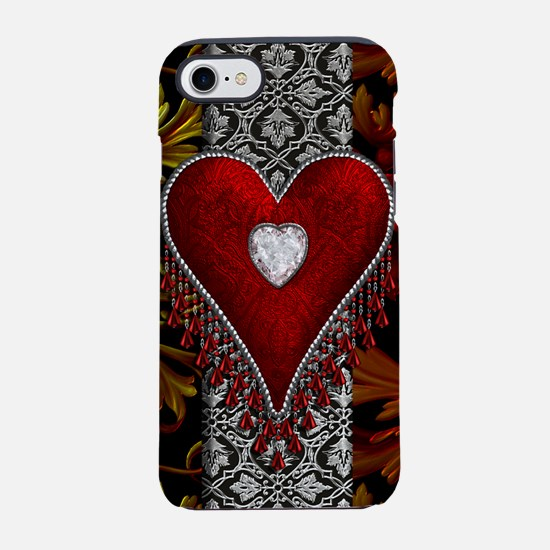 Harvest Moons Diamond Heart iPhone 7 Tough Case