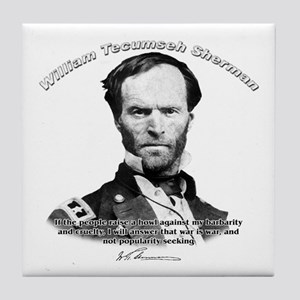 William Sherman 02 Tile Coaster