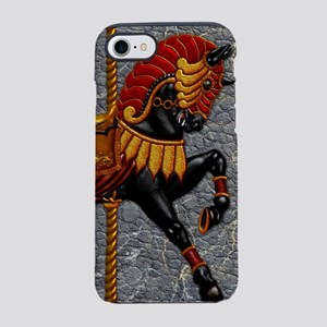 Harvest Moons Carousel Horse iPhone 7 Tough Case