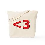 Less than 3 Tote Bag