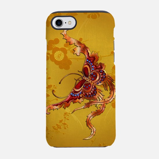 Harvest Moons Fiery Butterfly iPhone 7 Tough Case