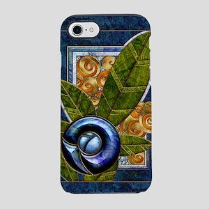 Harvest Moons Art Deco Rose iPhone 7 Tough Case