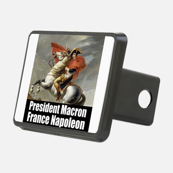 President Macron France Napoleon Hitch Cover