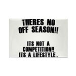 No Off Season Rectangle Magnet