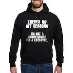 No Off Season Hoodie (dark)