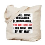 the 4 D's Tote Bag