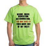 the 4 D's Green T-Shirt