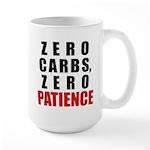 Zero Carbs Large Mug