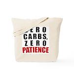 Zero Carbs Tote Bag
