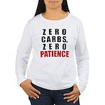 Zero Carbs Women's Long Sleeve T-Shirt