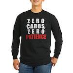 Zero Carbs Long Sleeve Dark T-Shirt