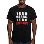 Zero Carbs Men's Fitted T-Shirt (dark)