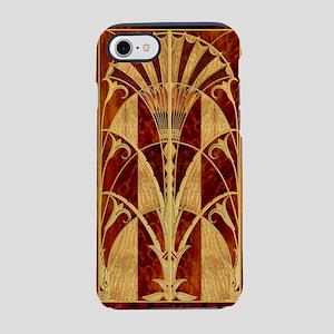 Harvest Moons Art Deco Panel iPhone 7 Tough Case