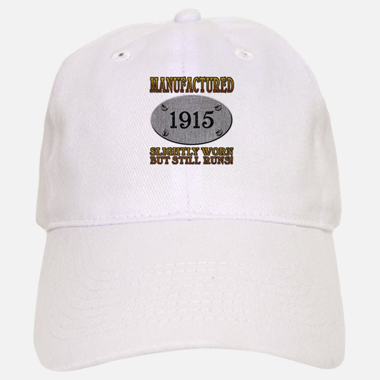 Manufactured 1915 Baseball Baseball Cap
