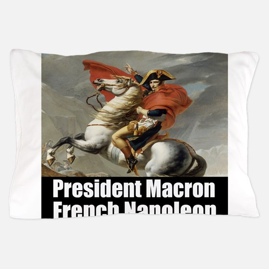 President Macron French Napoleon Pillow Case