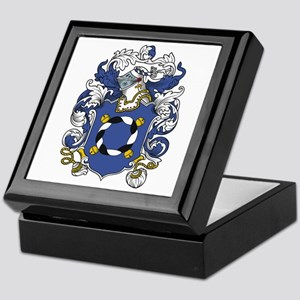 Jocelyn Coat of Arms Keepsake Box