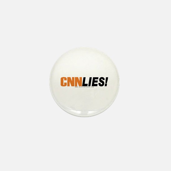 CNN Lies Mini Button