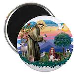 St Francis #2/ Basset Hound 2.25