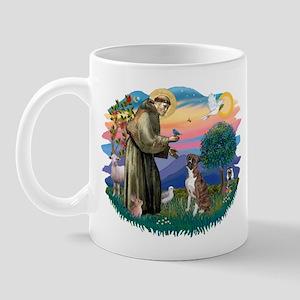 St Francis #2/ Boxer (nat ears) Mug