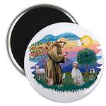 St Francis #2/ English Set. Magnet