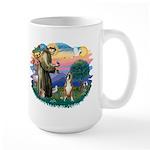 St Francis #2/ Boxer (crop.) Large Mug