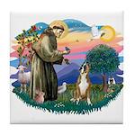 St Francis #2/ Boxer (crop.) Tile Coaster