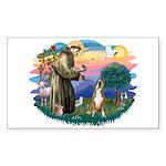 St Francis #2/ Boxer (crop.) Sticker (Rectangle)