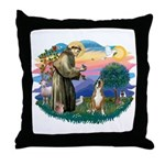 St Francis #2/ Boxer (crop.) Throw Pillow