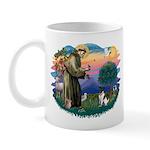 St Francis #2/ Fox Terrier Mug