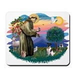 St Francis #2/ Fox Terrier Mousepad