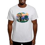 St Francis #2/ Fox Terrier Light T-Shirt