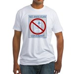 No Anglican Covenant Fitted T-Shirt