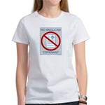 No Anglican Covenant Women's T-Shirt
