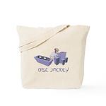 Disc Jackey (jockey) Tote Bag