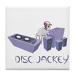 Disc Jackey (jockey) Tile Coaster