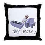 Disc Jackey (jockey) Throw Pillow