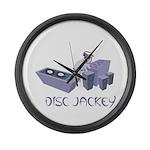 Disc Jackey (jockey) Large Wall Clock