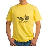 Disc Jackey (jockey) Yellow T-Shirt