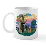 St Francis #2/ Cocker (brn) Mug