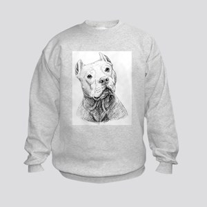 Kids Sweatshirt - Doc the Pit Bull