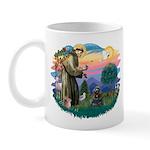 St Francis #2/ Cocker (blk) Mug