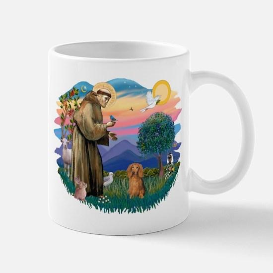 St Francis #2/ Dachshund (LH S) Mug