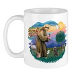 St Francis #2/ Cairn (br) Mug