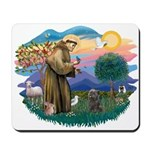 St Francis #2/ Cairn (br) Mousepad